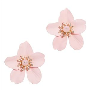 Lilly Pulitzer Pink Oversized Orchid Earrings